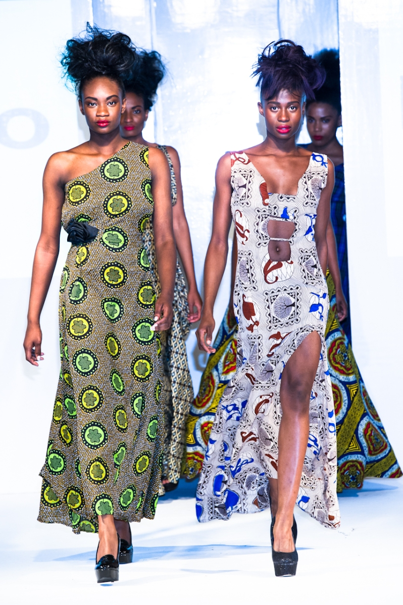 Kemunto collection at Africa Fashion Week London 2012